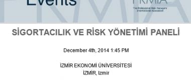 Sigortacılık ve Risk Yönetimi Paneli
